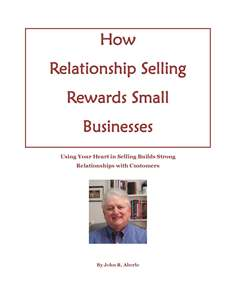 How Relationship Selling Rewards Small Business Ebook Cover image