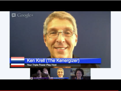 Triple Power Play Preview on Google+ Hangout