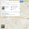 "Google map results for Covina area salons to illustrate ""Why Is Google+ Important for Small Businesses?"""