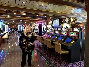 Picture of the Casino on the Carnival Miracle