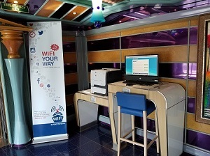Picture of Stations for WiFi Your Way Stations on the Carnival Miracle