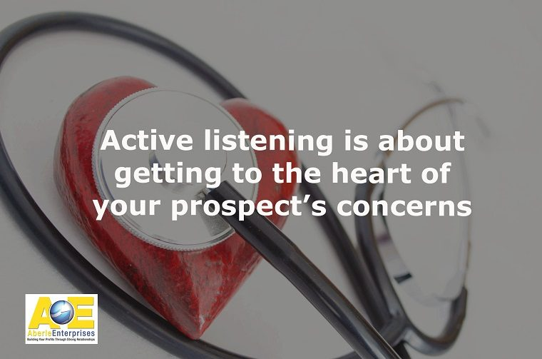 Active listening meme created with a picture of a stethoscope and red heart