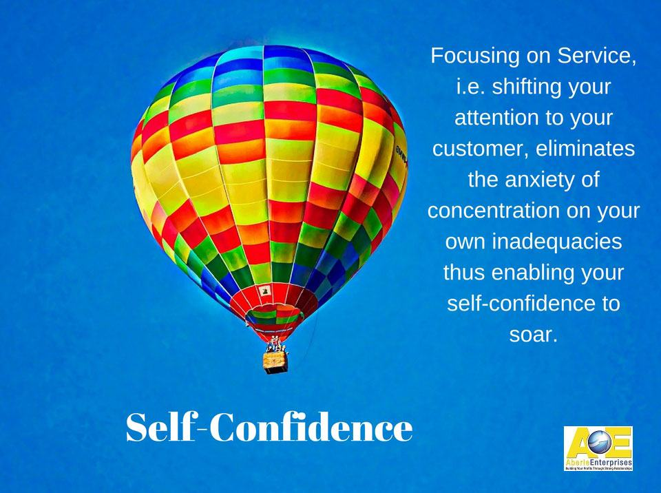 Picture: Self-Confidence Meme with logo