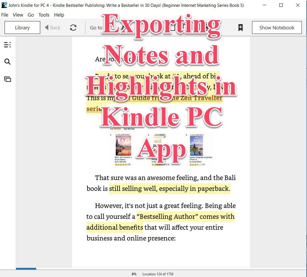 Kindle PC App Video Thumbnail for Aberle Enterprises post AbeEnt-150